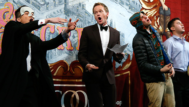 """""""Hasty Pudding""""-Preis für Neil Patrick Harris (Bild: AP)"""
