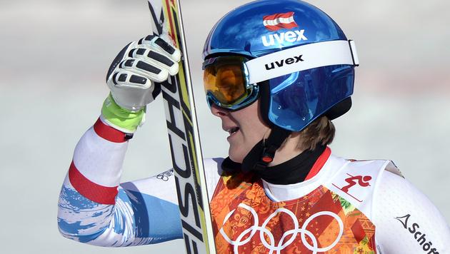 Niki Hosp holt erste Medaille für unsere Damen (Bild: APA/HANS KLAUS TECHT)