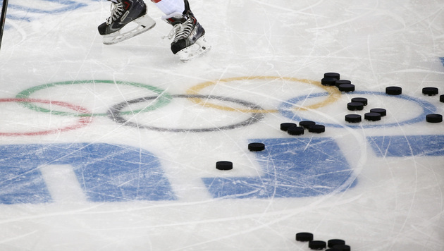 USA im Viertelfinale, Russen müssen ins Play-off (Bild: AP)