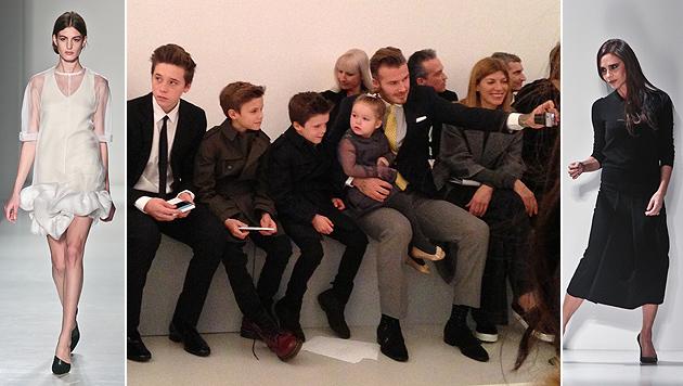 Victoria Beckham: Willkommen im Club der 40er (Bild: AP)