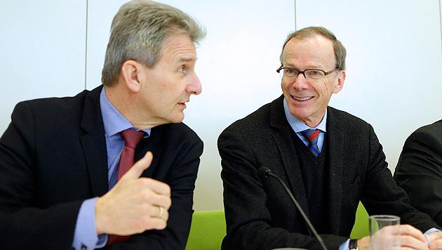 Freunds Arbeitergehalt-Fauxpas kein Thema mehr (Bild: APA/Georg Hochmuth)