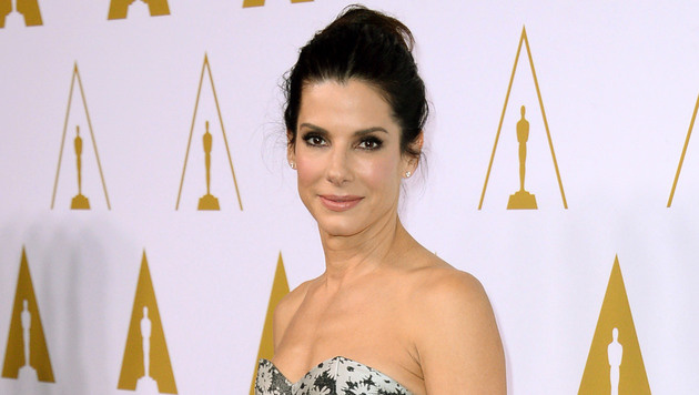 Hollywoods Goldmädchen: Sandra Bullock ist 50 (Bild: Jordan Strauss/Invision/AP)