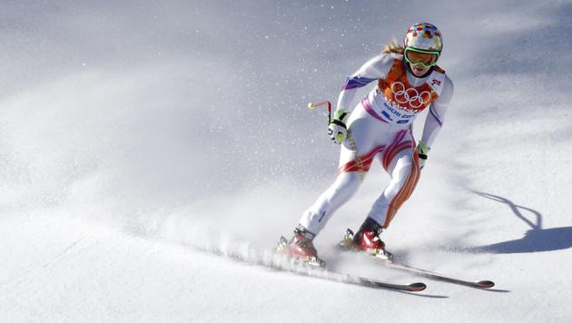Liechtensteinerin Weirather fällt für Abfahrt aus (Bild: AP)
