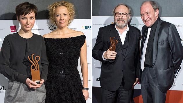 Österreicher triumphieren bei Schauspielerpreis (Bild: APA/EPA/Bernd von Jutrcenka)