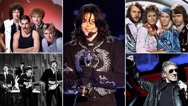 "Queens ""Greatest Hits"" ist absoluter Topseller (Bild: AP, Universal Music, epa Scanpix Sweden/Pressensbild, EPA)"
