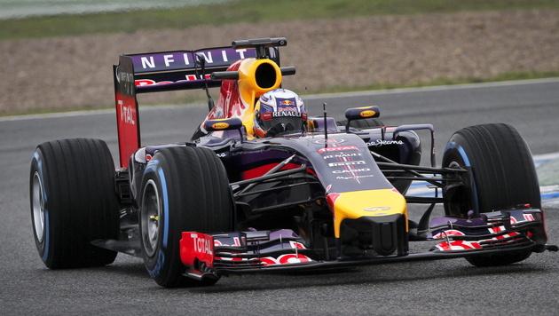 Red Bull zieht vor nächstem Test das Tempo an (Bild: APA/EPA/ROMAN RIOS)