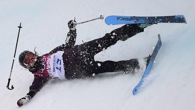 Ski-Slopestylerin Bair verpasst Finale (Bild: AFP)