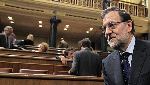 Spaniens Ministerpräsident Mariano Rajoy muss derzeit eine neue Regierung bilden. (Bild: EPA)