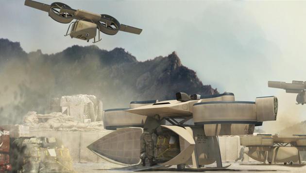 US-Militär arbeitet an unbemannter Transportdrohne (Bild: DARPA)