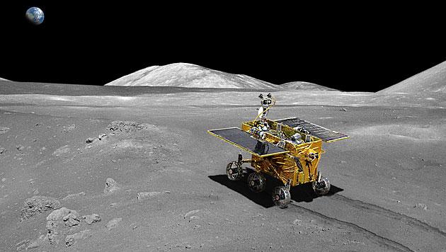 """Chinas Mond-Rover """"Yutu"""" in ewigen Schlaf gefallen (Bild: APA/CNSA)"""
