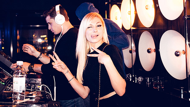 DJane Dominique Jardin rockt den Big Apple (Bild: MOMA)