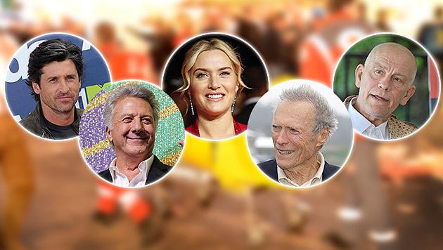 Diese Stars wurden im Alltag zu echten Helden (Bild: dpa/Marc Müller, krone.at-Grafik)