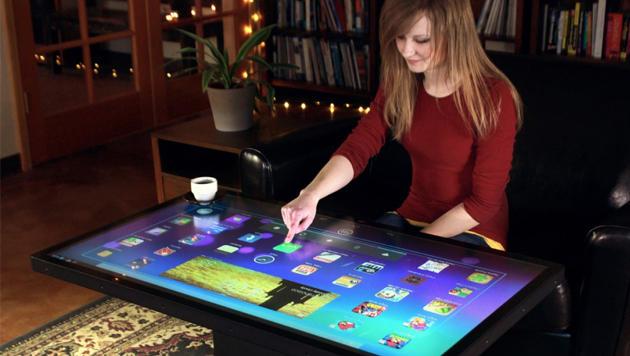 Intelligenter Couchtisch mit Android angekündigt  Ideum