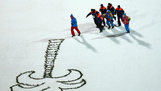 Mehrere Rippenbrüche bei Skispringer Maximotschkin (Bild: EPA)