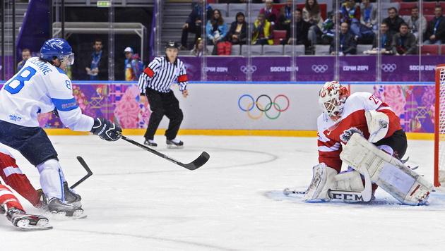 Österreich unterliegt Finnland 4:8 - Kanada siegt (Bild: EPA)