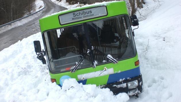 Fünf Jugendliche bei Busunfall in Kärnten verletzt (Bild: Polizei)