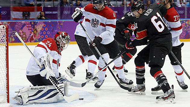 Kanada lässt ÖEHV-Team keine Chance und siegt 6:0 (Bild: AP)