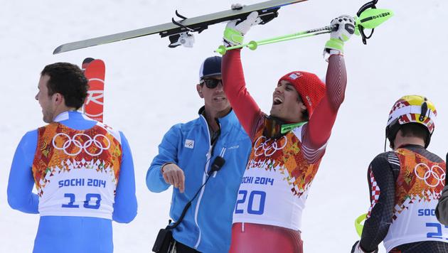 Viletta holt Kombi-Gold, Debakel für Österreich (Bild: AP)