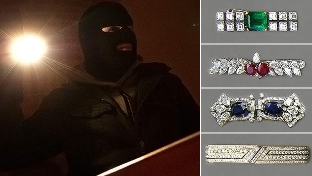 W: Rekordbelohnung nach Millionen-Coup ausgelobt (Bild: APA/HELMUT FOHRINGER, Polizei)