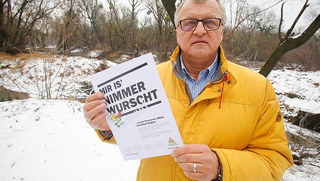 """Umweltschützer: """"Man will mich mundtot machen"""" (Bild: Martin A. Jöchl)"""