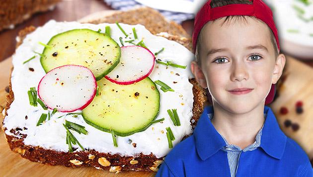 Welche Jause für Ihr Kind gesund ist (Bild: thinkstockphotos.de, krone.at-Grafik)