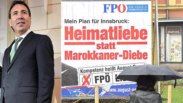 Ex-FPÖler Penz von Verhetzung freigesprochen (Bild: APA/ZEITUNGSFOTO.AT/DANIEL LIEBL, ROBERT PARIGGER)