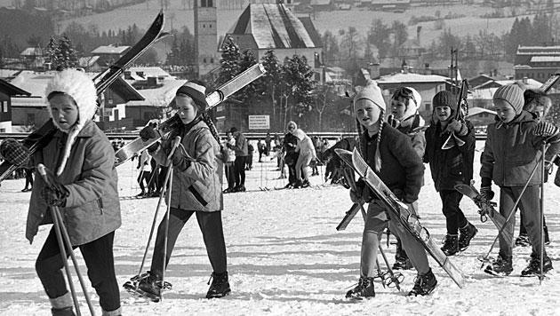 Fotos zeigen jungen Redford bei Dreh auf Streif (Bild: Hans Rudolf Uthoff)