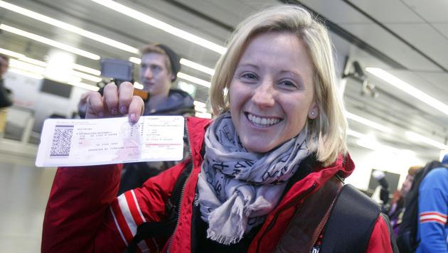 Kirchgasser und Görgl lösen RTL-Tickets (Bild: APA/GEORG HOCHMUTH)