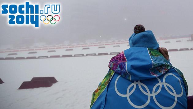 Nebel sorgt für serienweise Absagen bei Olympia (Bild: APA/EPA/KAY NIETFELD, sochi2014.com)