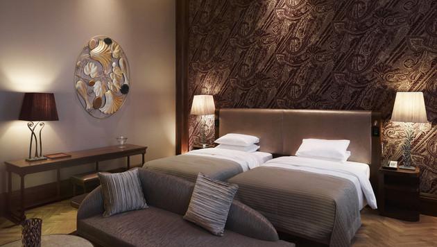 Trendiges Design: Die neuesten Hotelbetten Wiens (Bild: Park Hyatt)