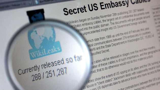 WikiLeaks kündigt Vielzahl neuer Enthüllungen an (Bild: dpa/Oliver Berg)