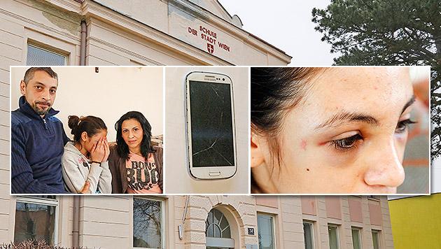 15-Jährige schlägt Mädchen vor Schule spitalsreif (Bild: Martin A. Jöchl)