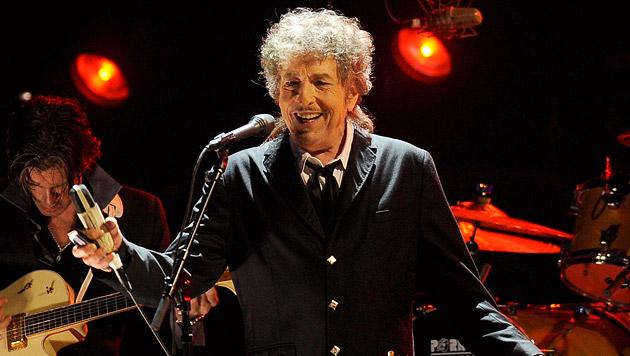 Bob Dylan bringt 2015 neues Album heraus (Bild: AP)