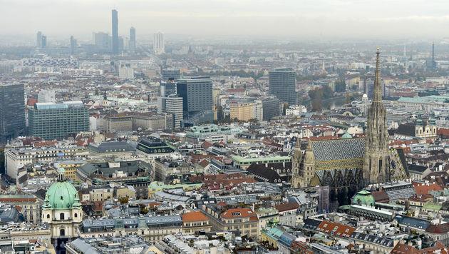 Wien bleibt Stadt mit höchster Lebensqualität (Bild: APA/HERBERT NEUBAUER (Symbolbild))