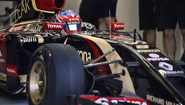 Lotus setzt weiter auf Renault-Motoren (Bild: APA/EPA/MAZEN MAHDI)