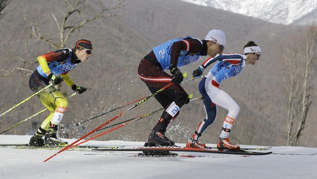 Österreichs Kombinierer holen Bronzemedaille (Bild: AP)