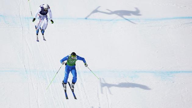 Skicrosser Matt im Viertelfinale ausgeschieden (Bild: AP)