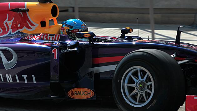 """Vettel nach Testtag 2: """"Noch viele Baustellen"""" (Bild: AP)"""