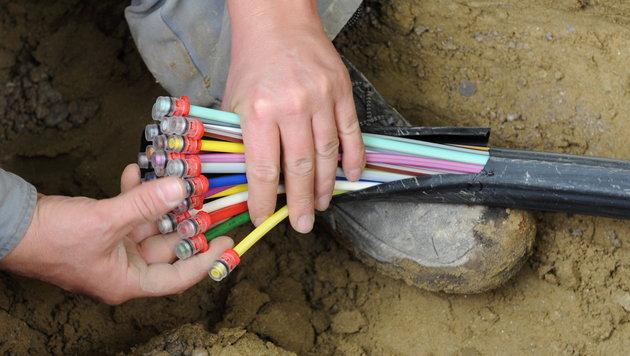 Österreich Schlusslicht bei Telekom-Investitionen (Bild: dpa/Peter Kneffel)