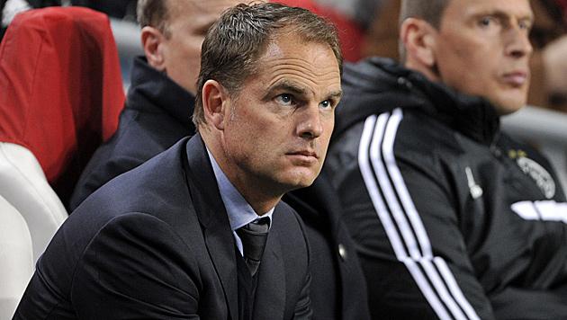 Mancini verlässt Inter! Folgt De Boer? (Bild: APA/HANS PUNZ)