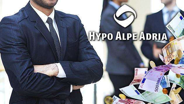 Hypo: Eine Viertelmilliarde allein für Berater (Bild: thinkstockphotos.de, krone.at-Grafik)