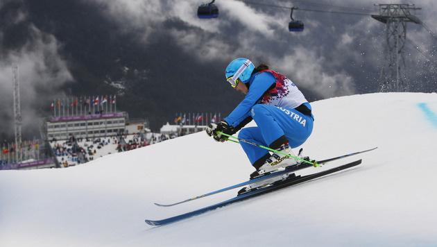Katrin Ofner im Skicross-Semifinale ausgeschieden (Bild: AP)