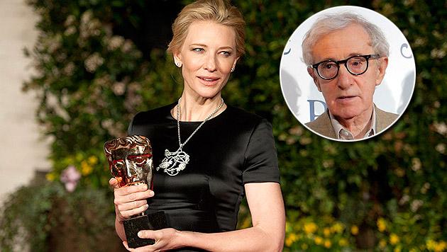 Kostet Woody Allen Cate Blanchett den Oscar? (Bild: APA/EPA/WILL OLIVER, AP, krone.at-Grafik)