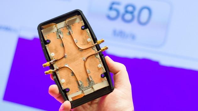 Mobilfunker entwickeln neuen Turbo fürs LTE-Netz (Bild: APA/EPA/UWE¦ANSPACH)