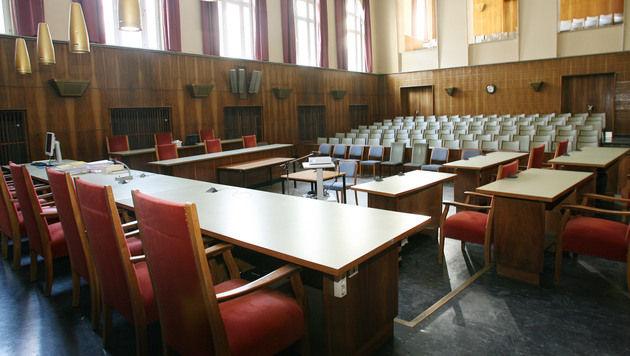 Straflandesgericht sucht Saal für 208 Angeklagte (Bild: Jürgen Radspieler)