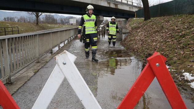 Wassermassen sorgen in Kärnten für Probleme (Bild: Uta Rojsek-Wiedergut)