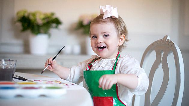 Das erste Foto von Madeleines Tochter ist da! (Bild: Kate Gabor/Kungahuset.se)