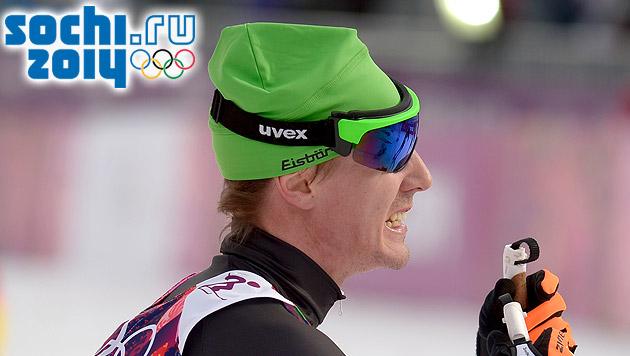 "Dopingsünder Dürr: ""Größter Fehler meines Lebens"" (Bild: APA/EPA/ROLAND SCHLAGER, sochi2014.com)"