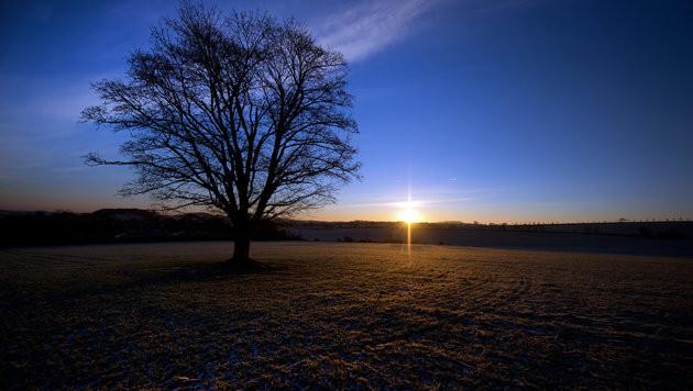 Freundlicher Wochenbeginn mit milden Temperaturen (Bild: APA/dpa/Arno Burgi)