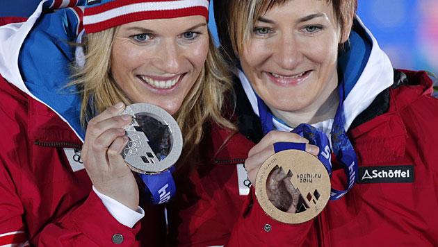 Kathrin Zettel hört auf! Ski-Ass beendet Karriere (Bild: EPA/ANATOLY MALTSEV)